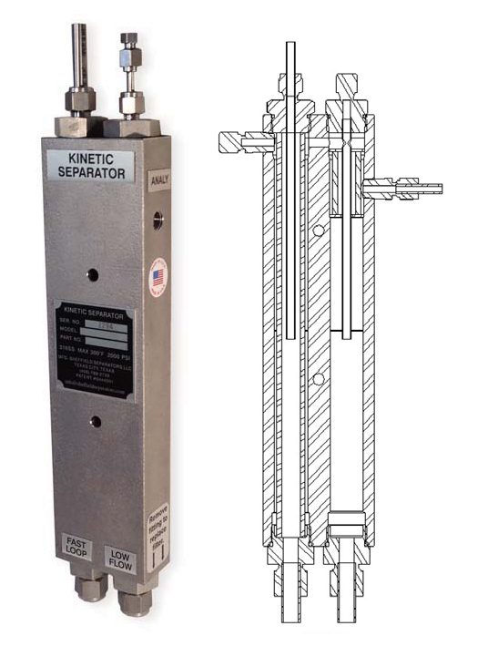 Separator SS1200LF-S2-H20-2